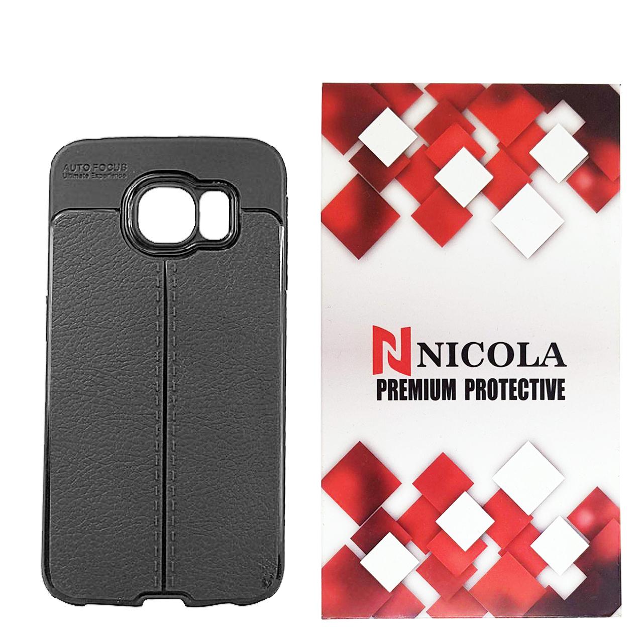 کاور نیکلا مدل N_ATO مناسب برای گوشی موبایل سامسونگ Galaxy S7