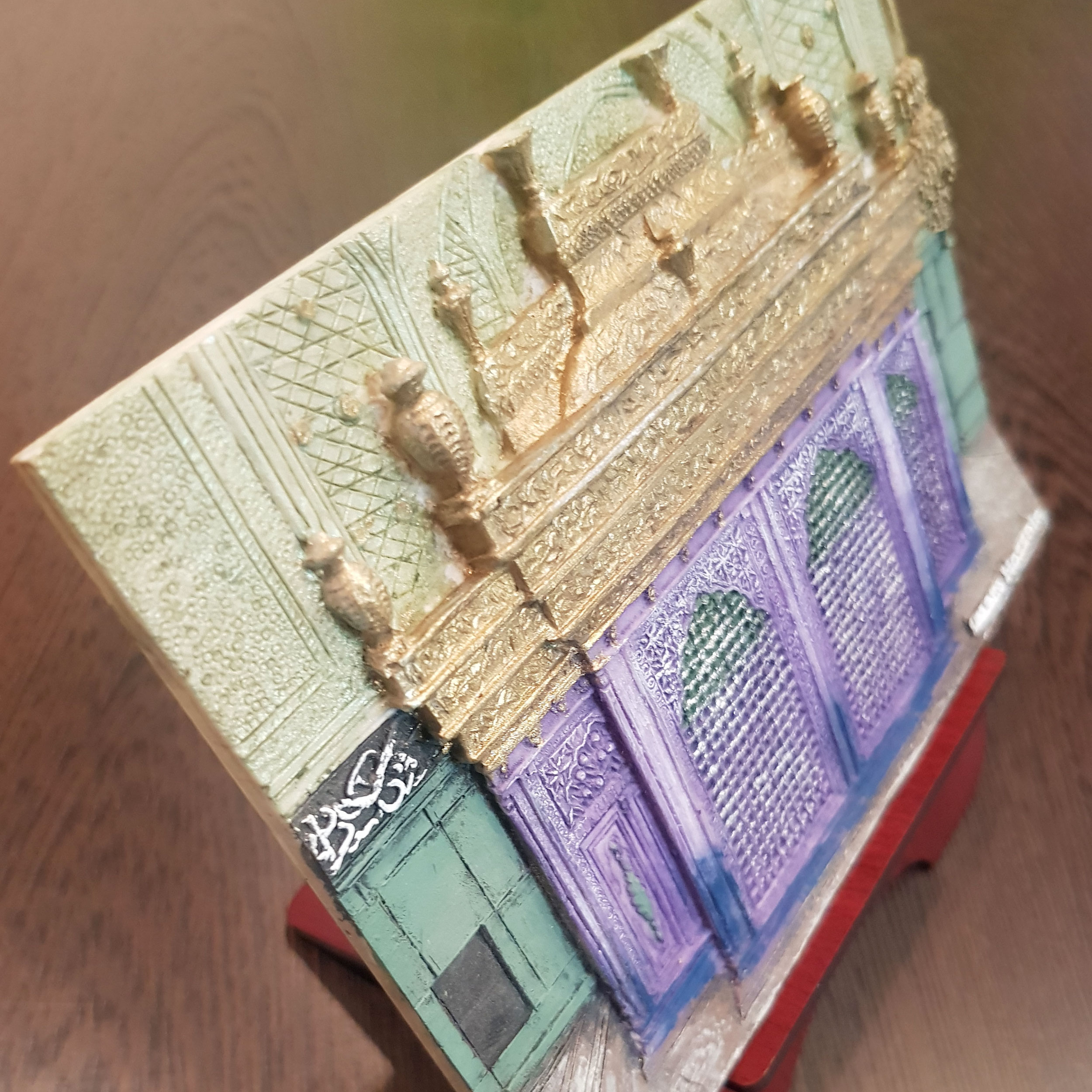 خرید                      تابلو برجسته طرح ضریح امام حسین ع کد L523