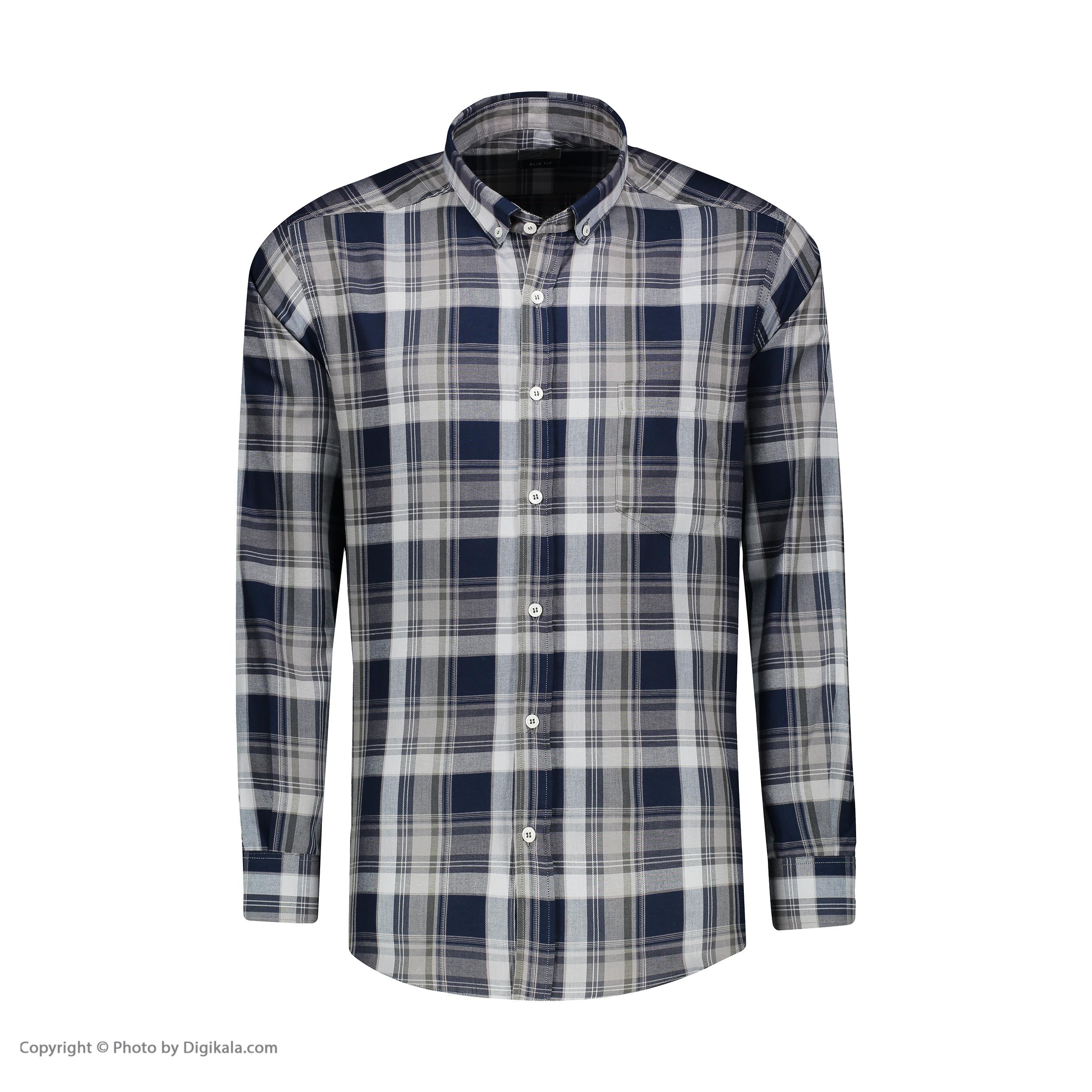 پیراهن آستین بلند مردانه زی مدل 1531342MC