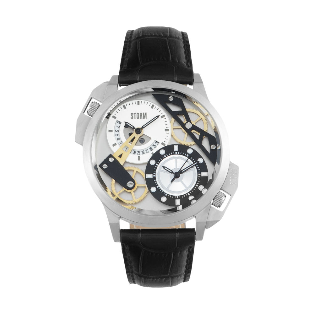 ساعت مچی عقربه ای مردانه استورم مدل ST 47147-S-BK