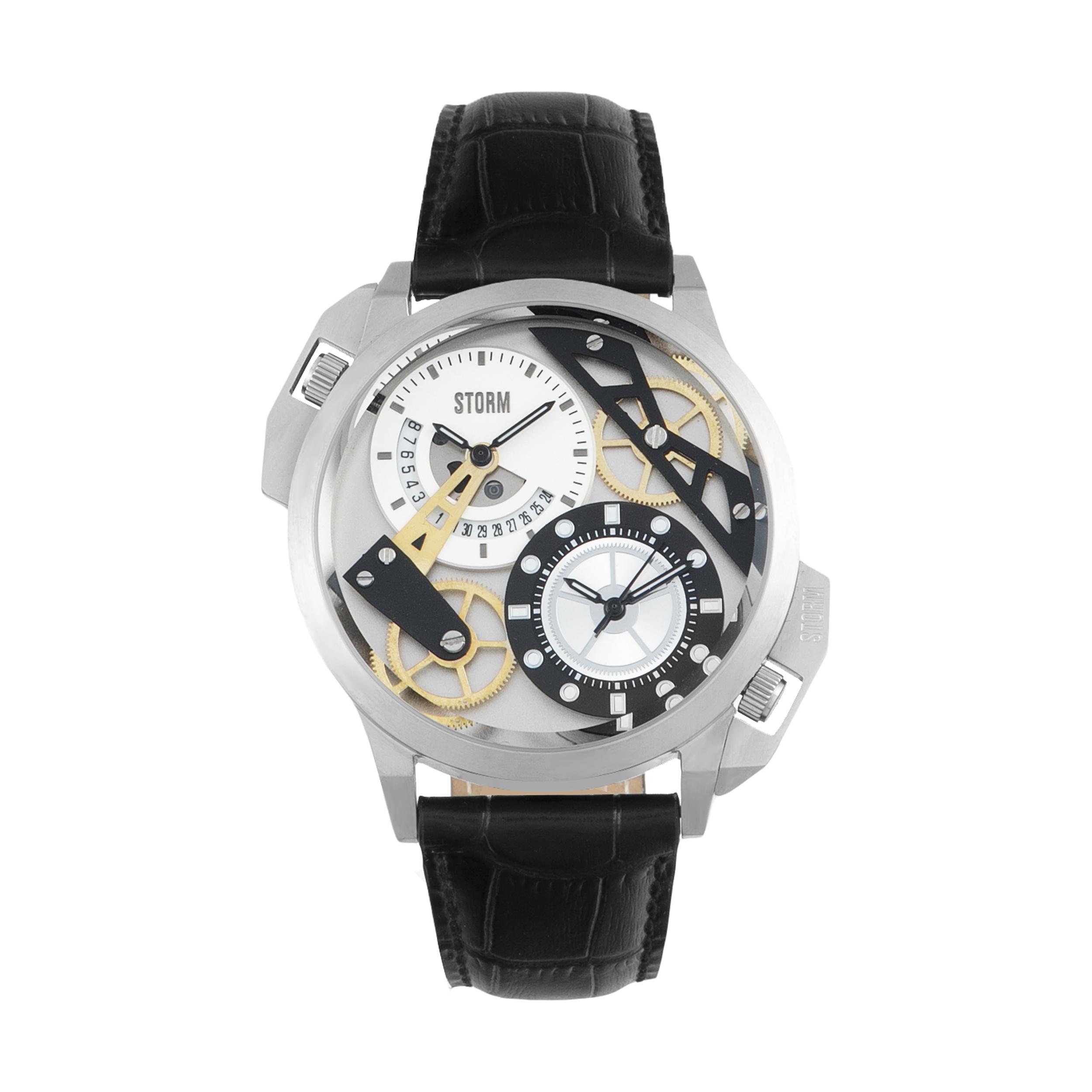 ساعت مچی عقربه ای مردانه استورم مدل ST 47147-S-BK -  - 2