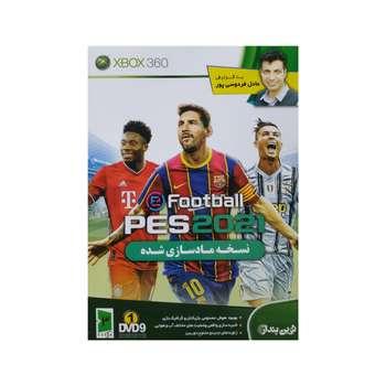بازی pes 2021 با گزارش فارسی عادل فردوسی پور مخصوص XBOX 360
