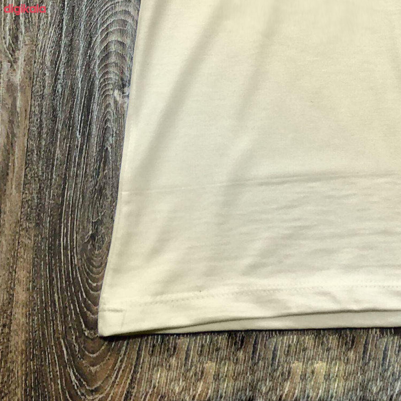 تیشرت آستین کوتاه مردانه طرح بارسلونا کد wsf03.01