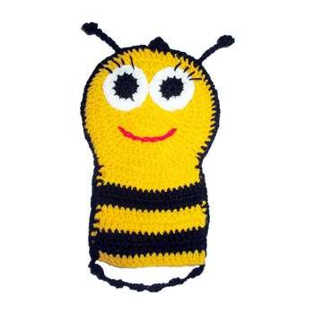 لیف حمام کودک مدل زنبور عسل