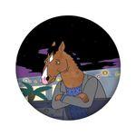 آینه جیبی مدل اسب کد 722