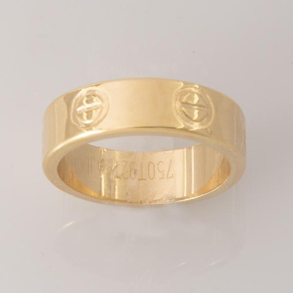 انگشتر طلا 18 عیار زنانه کد 6712