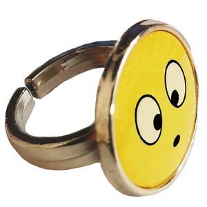 انگشتر دخترانه طرح استیکر کد 031