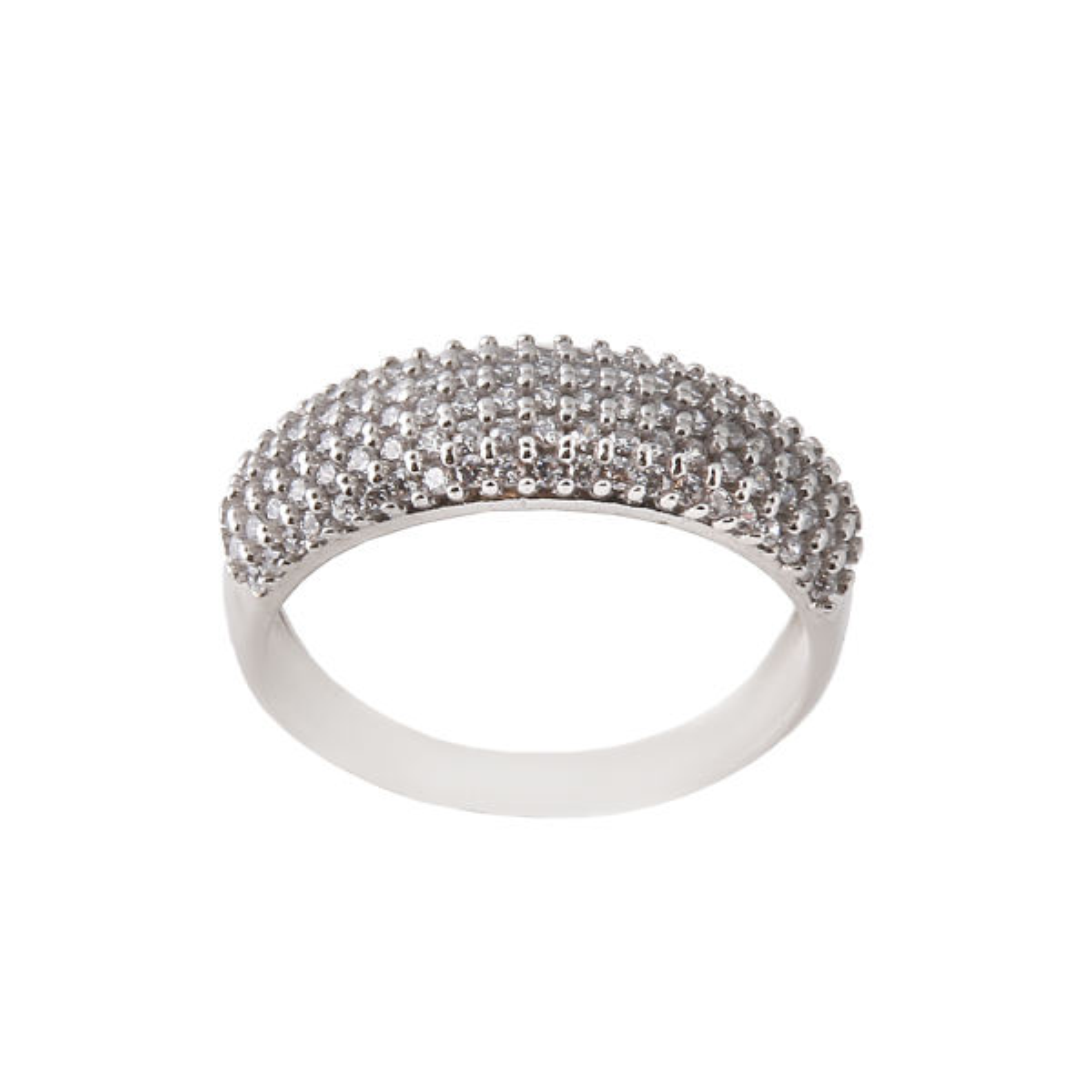 انگشتر نقره زنانه مدل رینگ کد FR0003