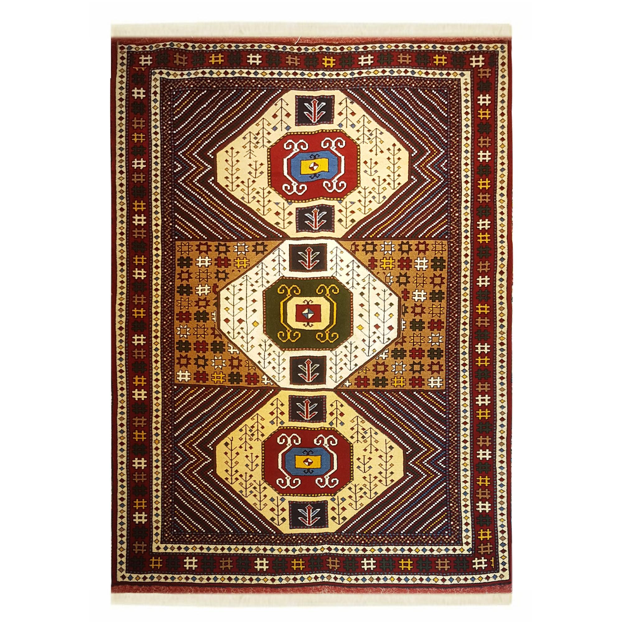فرش دستباف دو متری کد 7000
