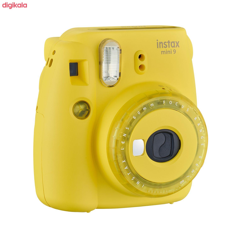 دوربین عکاسی چاپ سریع فوجی فیلم مدل Instax Mini 9 Clear main 1 23