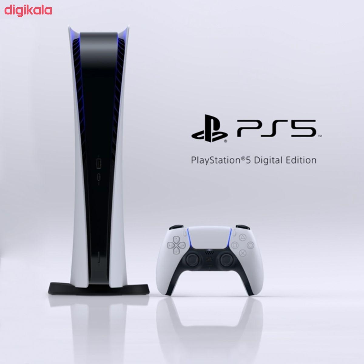 مجموعه کنسول بازی سونی مدل PlayStatio 5 Digital Edition ظرفیت 825 گیگابایت به همراه دسته اضافی main 1 5