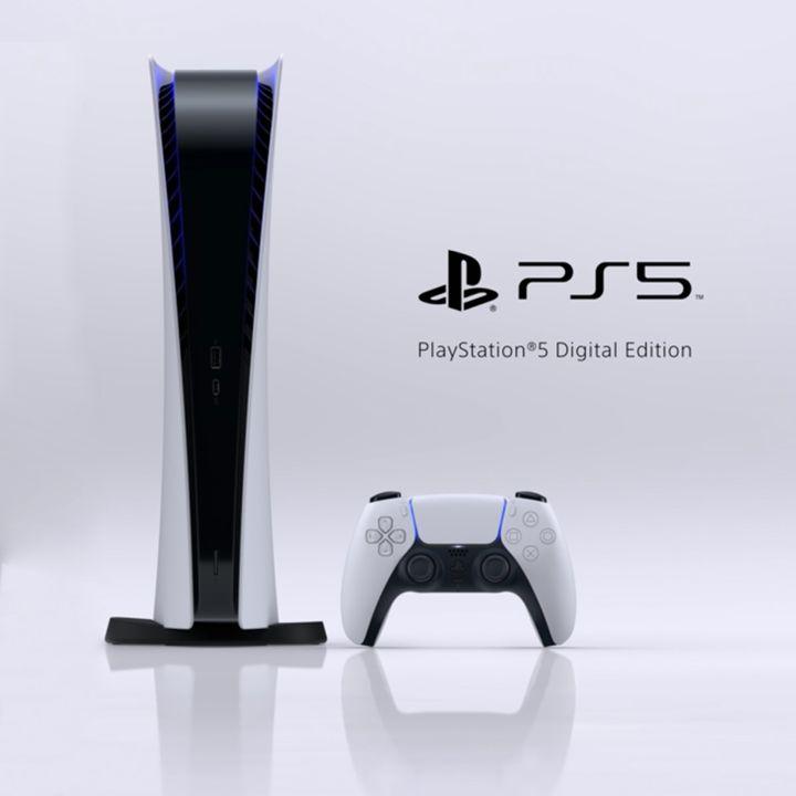 مجموعه کنسول بازی سونی مدل PLayStation 5 Digital به همراه هدست سونی Pulse 3D thumb 2 3