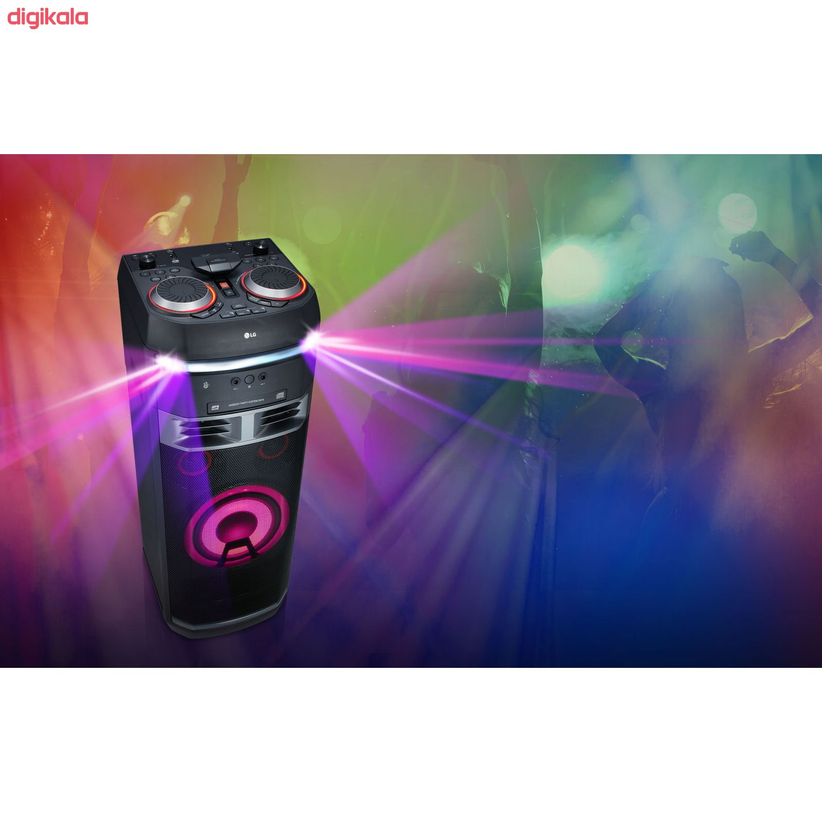سیستم صوتی ال جی مدل OK75 main 1 3