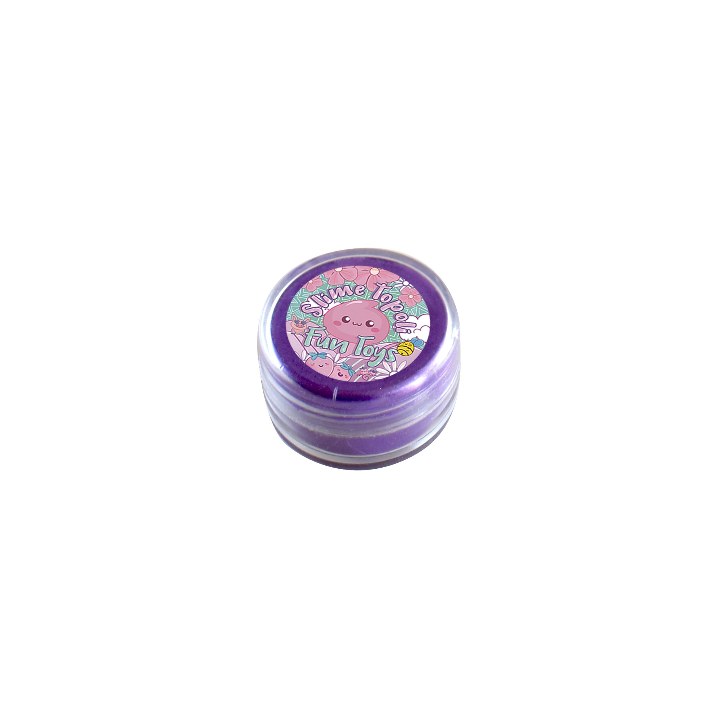 پودر رنگ اسلایم تپلی مدل Metali Violet
