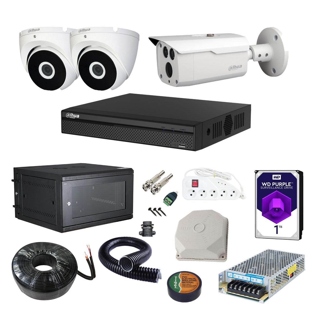 بررسی و خرید [با تخفیف]                                     سیستم امنیتی داهوا مدل DP32I2101-f                             اورجینال