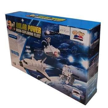کیت آموزشی ربات خورشیدی مدل فضایی کد 2035