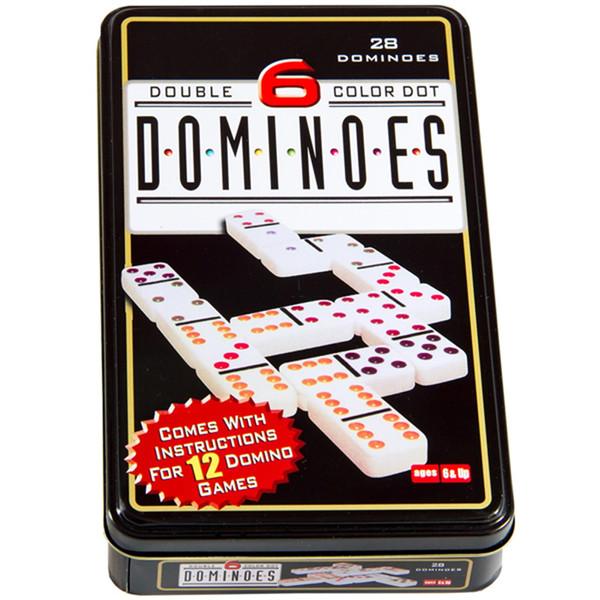 بازی فکری دومینو مدل دابل سیکس کالر دوت کد 1228