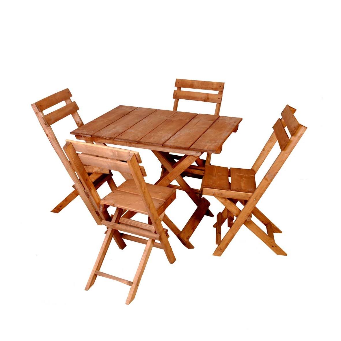 میز و صندلی ناهارخوری مدل A02