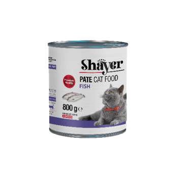 کنسرو غذای گربه شایر مدل Fish وزن 800 گرم