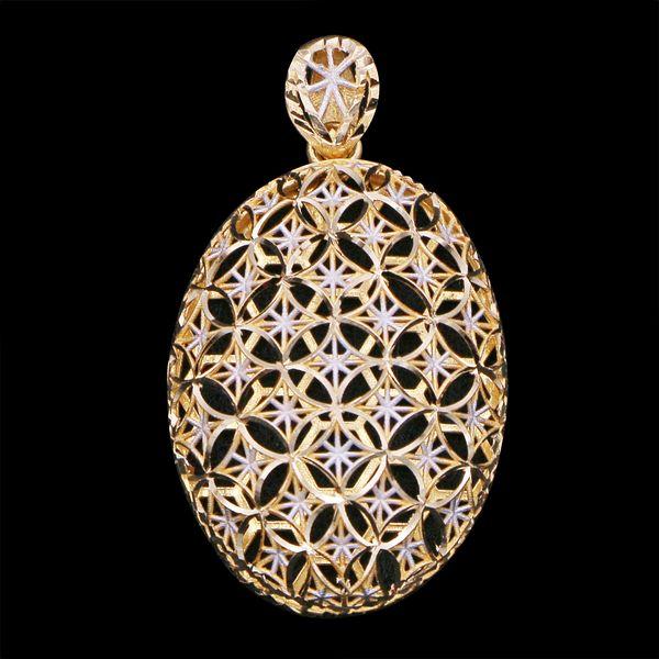 آویز گردنبند طلا 18 عیار زنانه گالری یارطلا کد PL36