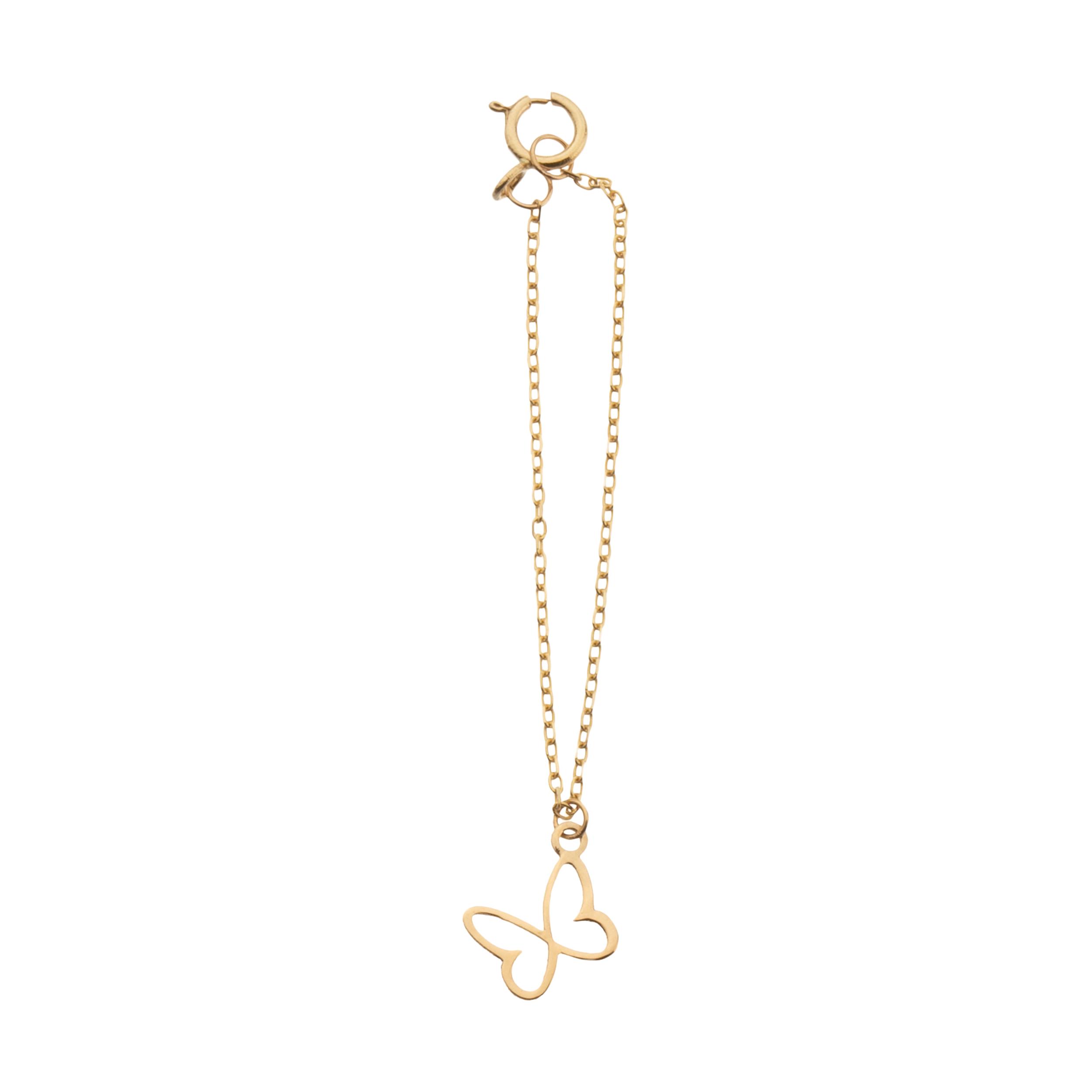 آویز ساعت طلا 18 عیار زنانه ناتروسا مدل NG205