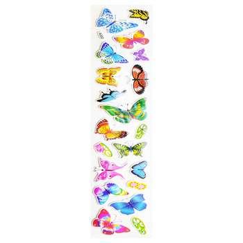 استیکر کودک مدل پروانه کد A050