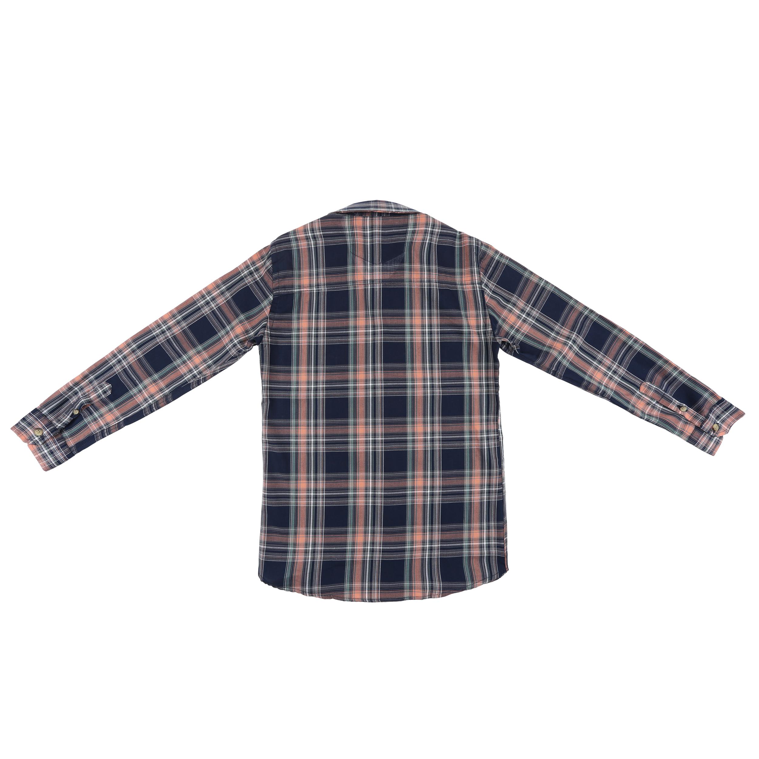 پیراهن پسرانه ناوالس کد G-20119-NV main 1 2