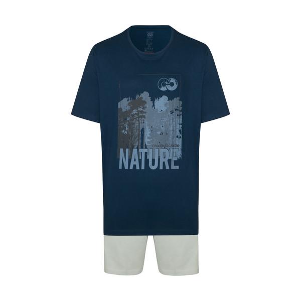 ست تی شرت و شلوارک مردانه لیورجی مدل Z400
