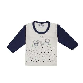 تی شرت آستین بلند نوزادی مدل 988584NA