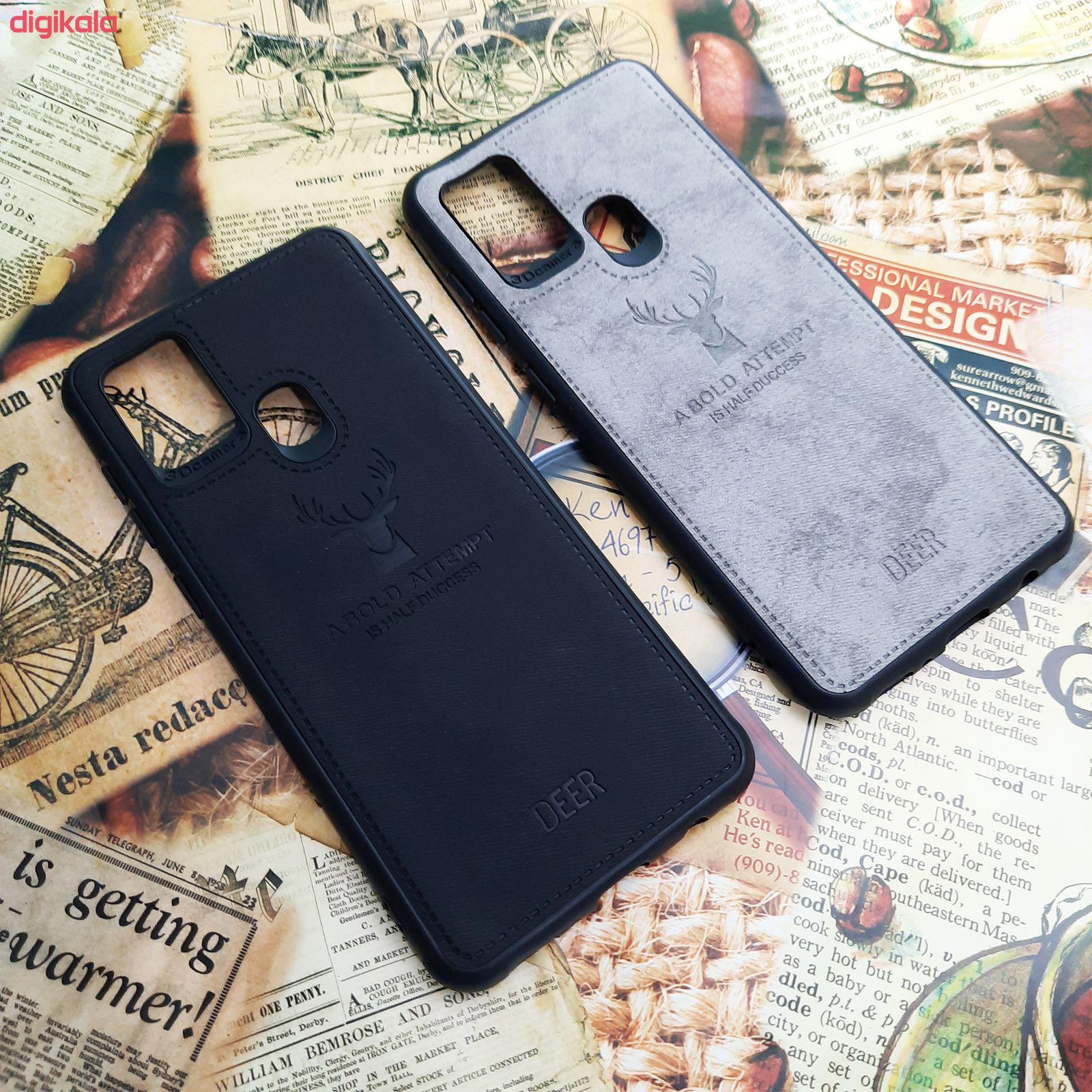 کاور مدل CO508 طرح گوزن مناسب برای گوشی موبایل سامسونگ Galaxy A21s main 1 1
