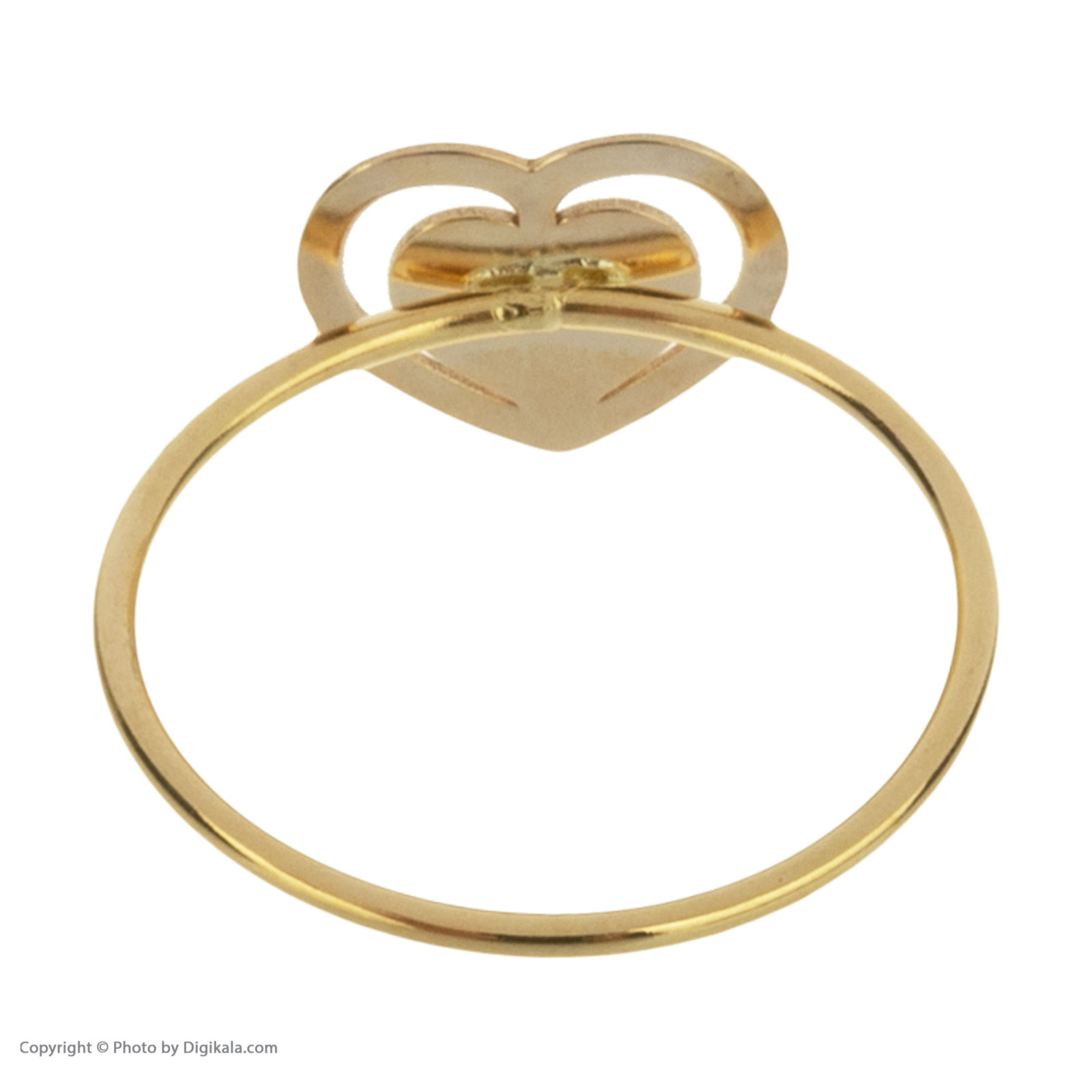 انگشتر طلا 18 عیار زنانه میو گلد مدل GD604 -  - 5