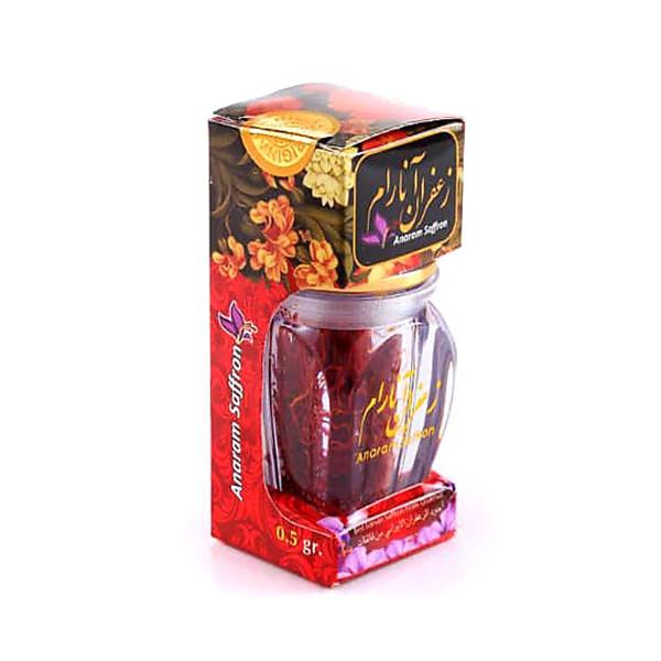 زعفران آنارام-0.5 گرم