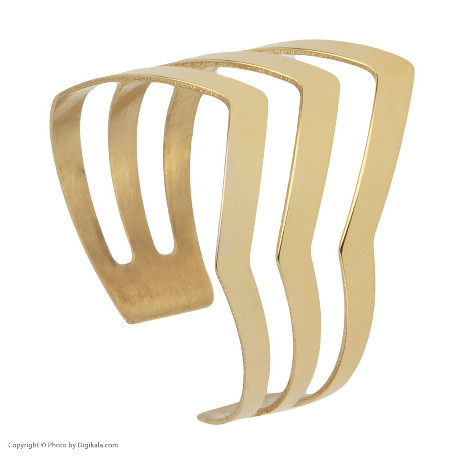 انگشتر طلا 18 عیار زنانه نیوانی مدل NR029 -  - 5