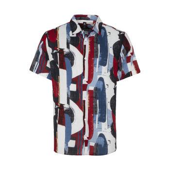 پیراهن آستین کوتاه مردانه ان سی نو مدل پرنتد