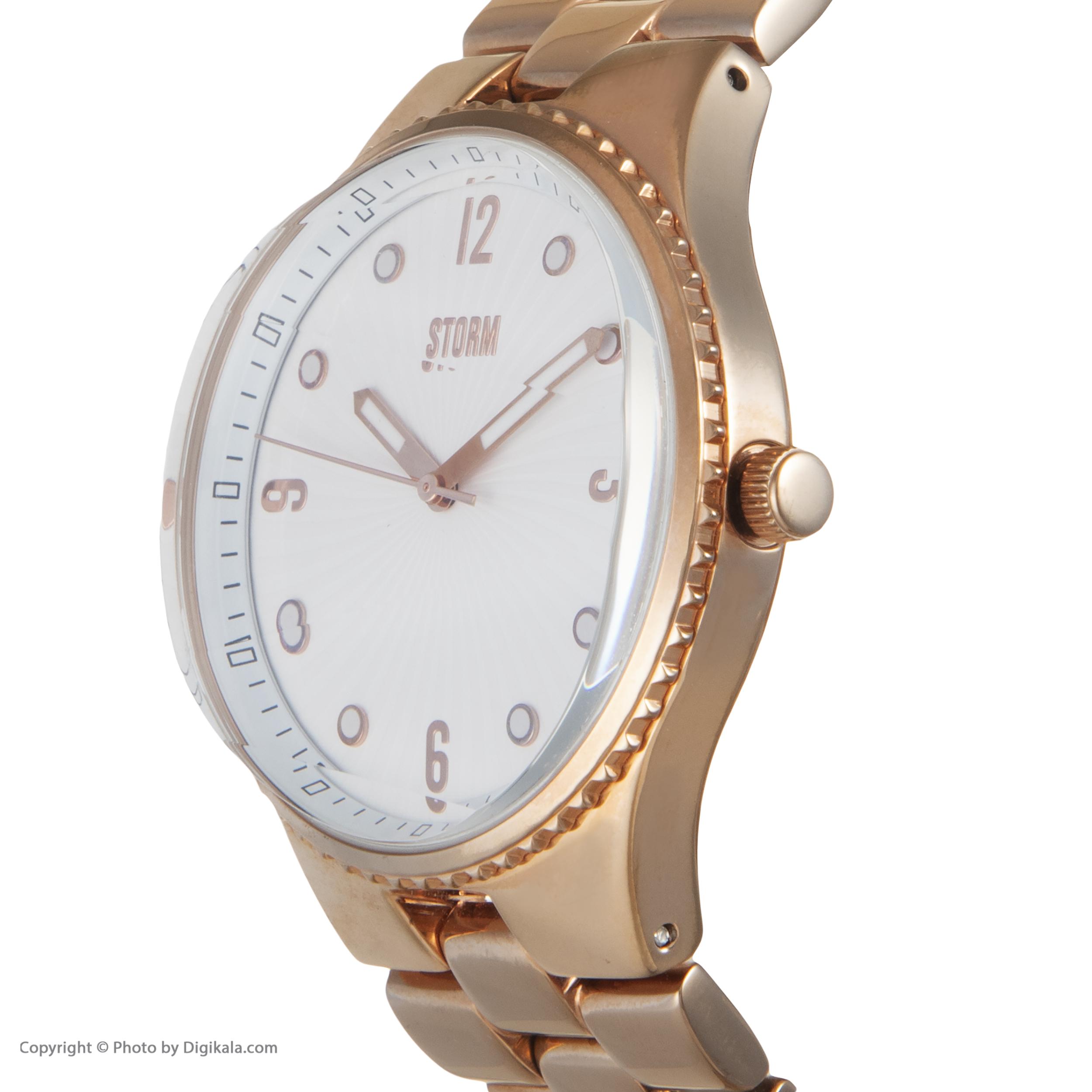 ساعت مچی عقربه ای زنانه استورم مدل ST 47148-RG -  - 5