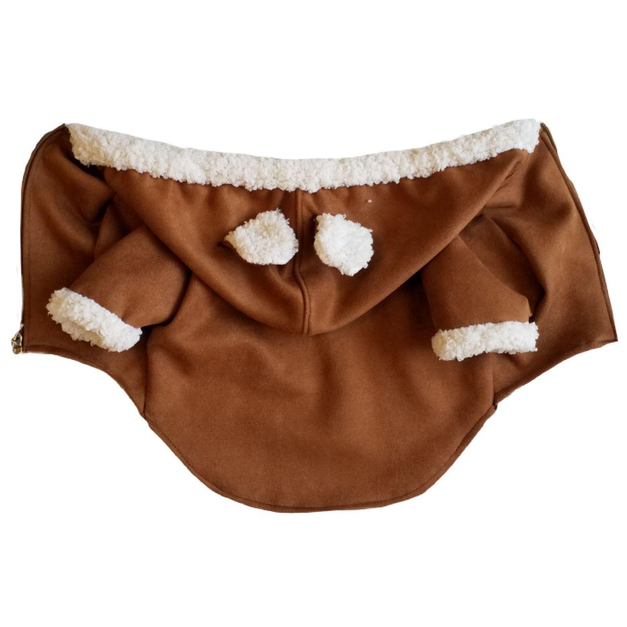 لباس سگ مدل کلاهدار سایز M