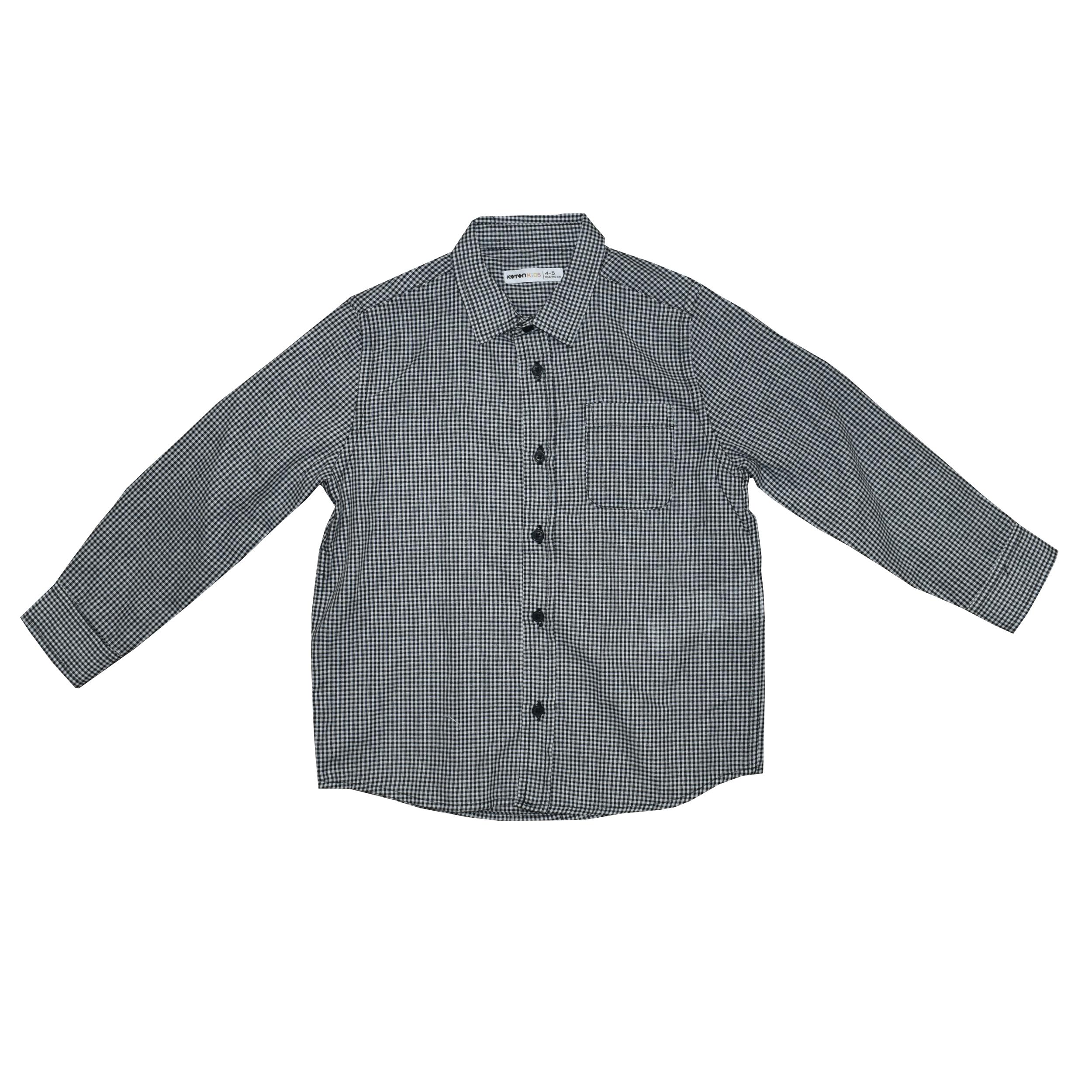 پیراهن نوزادی پسرانه کوتون مدل QWER-8884 thumb 2 1