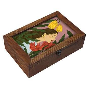 جعبه هدیه چوبی مدل       EG104