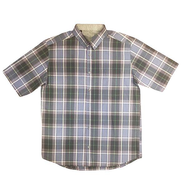 پیراهن آستین کوتاه مردانه مدل چهارخانه کد 05