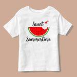 تی شرت بچگانه طرح  هندوانه یلدایی کد p4