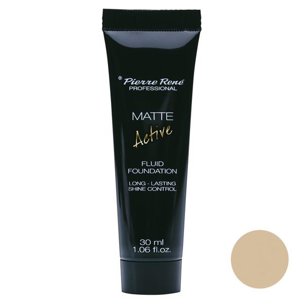 کرم پودر پیر رنه مدل Active Matte شماره01 حجم 30 میلی لیتر