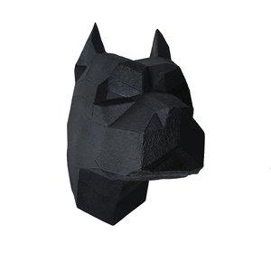 مجسمه طرح سگ گرافیکی کد 01