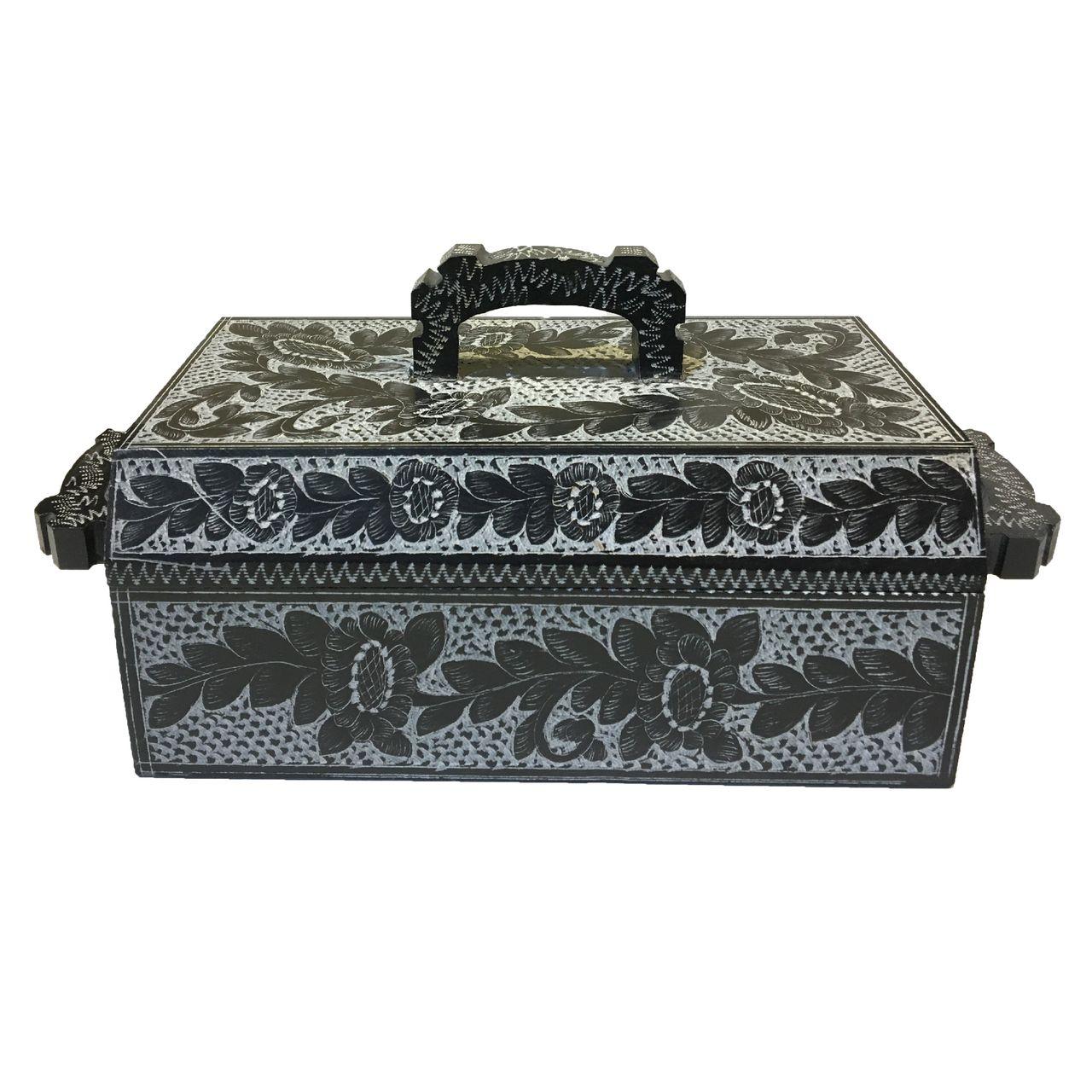 جعبه جواهر سنگی طرح یاقوت