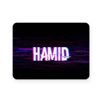 برچسب تاچ پد دسته پلی استیشن 4 ونسونی طرح HAMID