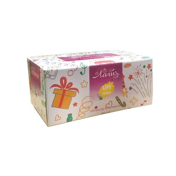 دستمال کاغذی 100 برگ چشمک مدل Colorful Birthday