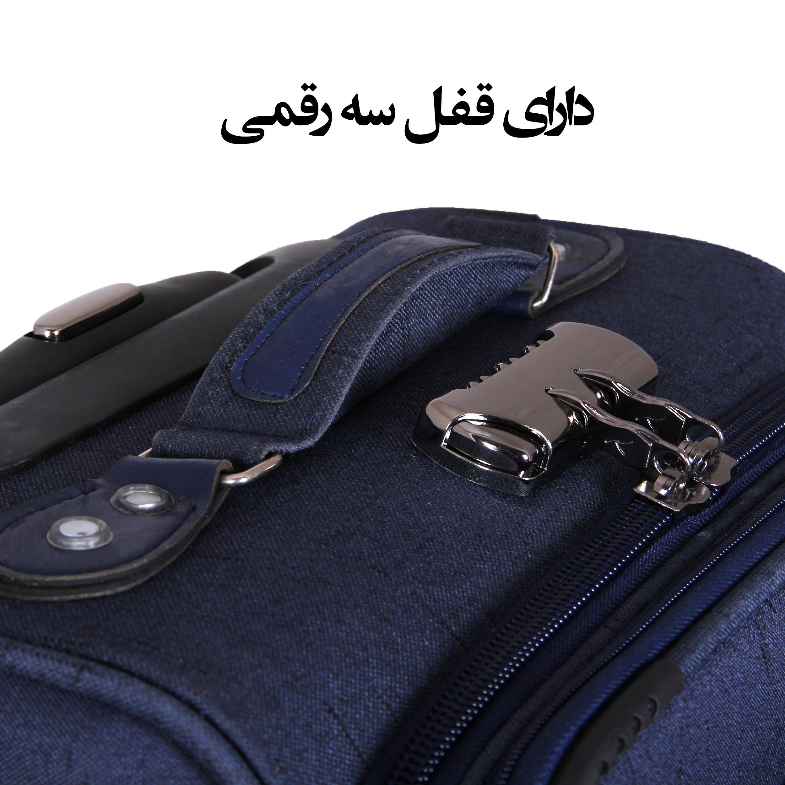 مجموعه سه عددی چمدان کد 2301A main 1 8