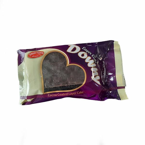 کیک روکش شکلاتی شیرین وطن - 80 گرم