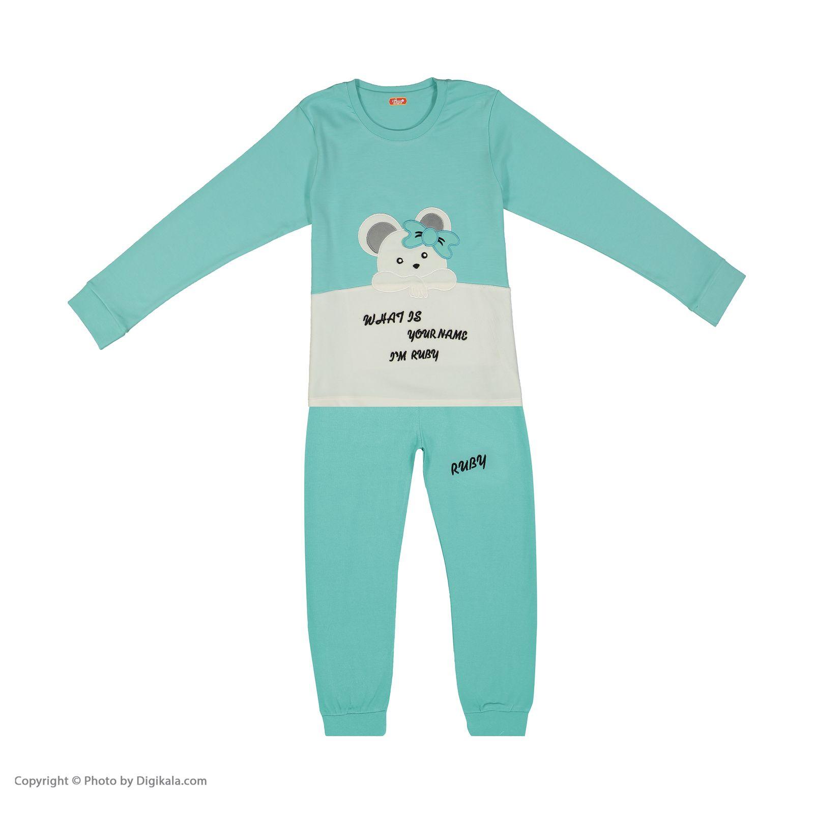 ست تی شرت و شلوار دخترانه مادر مدل 301-54 main 1 1