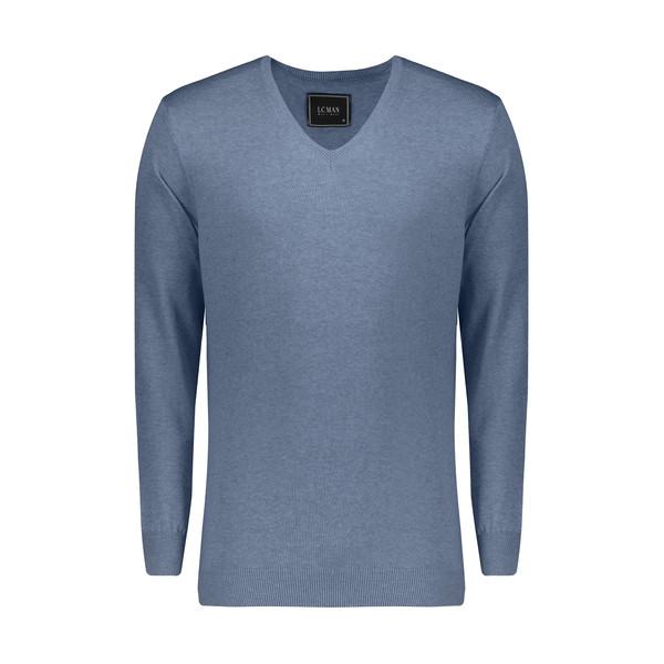 پلیور مردانه ال سی من مدل 09315823-BLUE