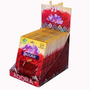 زعفران ادورا سرگل - 4.608 گرم بسته 20 عددی
